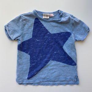 Zara   baby boy star t shirt